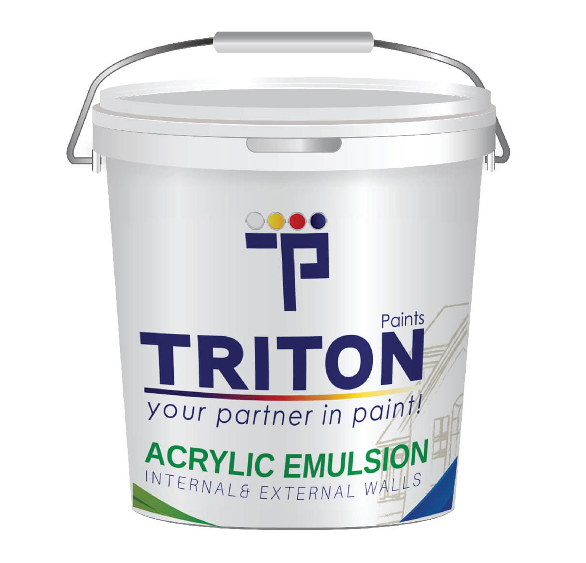 Acrylic flat emulsion