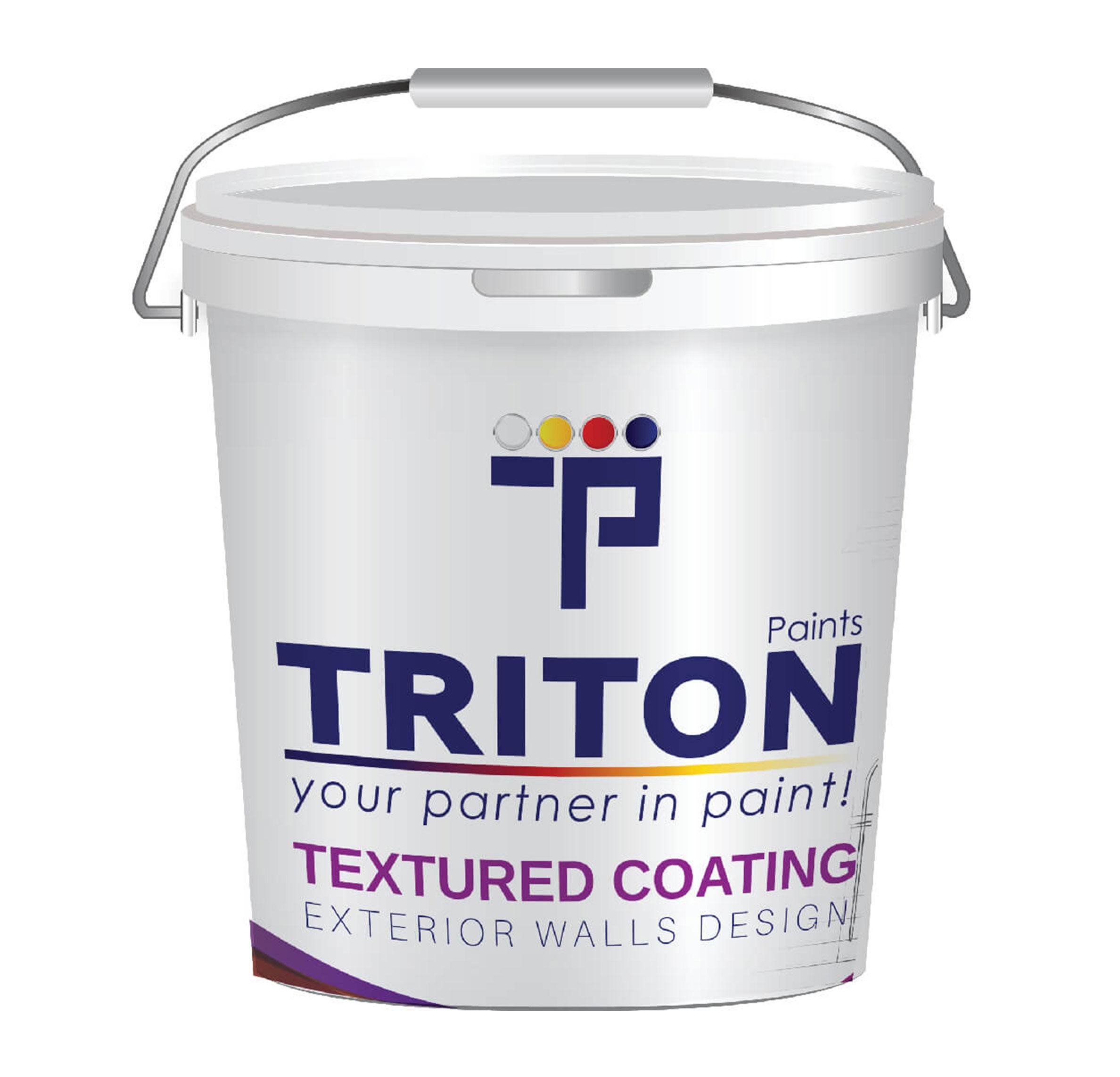 Textured coating